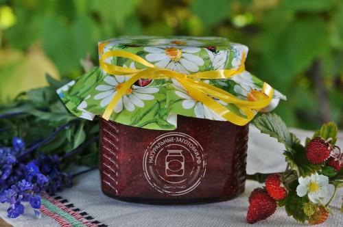 Купить в Ульяновске клубничное варенье из клубники Александрия