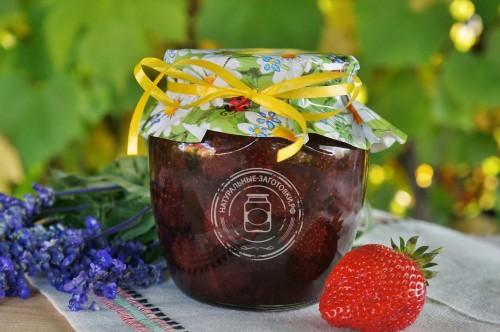 Купить в Ульяновске клубничное варенье из ягод клубники Елизавета 2