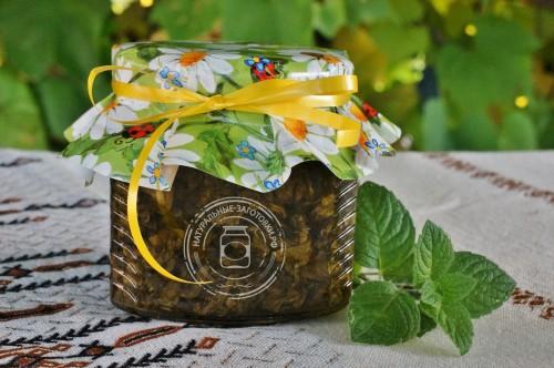 Купить в Ульяновске мятное варенье из листьев мяты