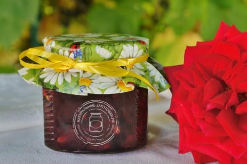 Купить в Ульяновске розовое варенье из лепестков роз