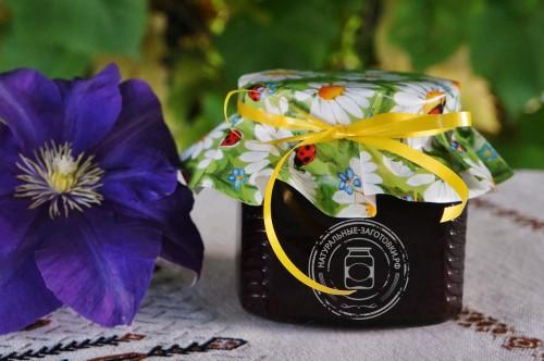 Купить в Ульяновске смородиновое варенье-джем из чёрной смородины